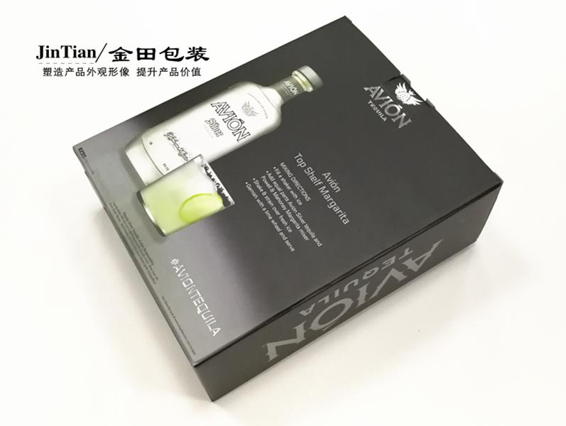 金田酒类彩盒