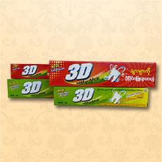 牙膏包装彩盒